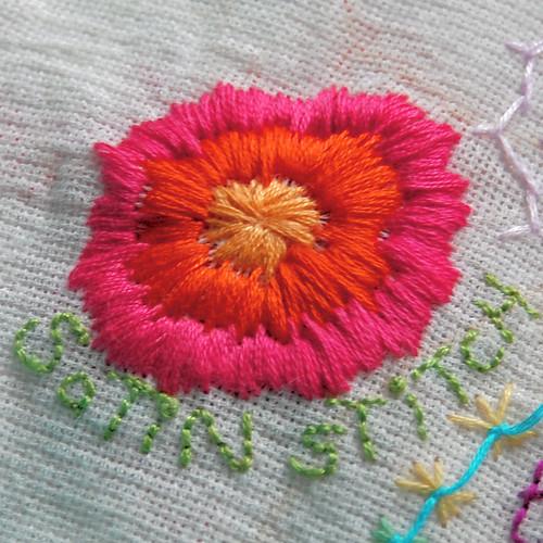 TAST 2012 #13 Satin Stitch borduren platsteek