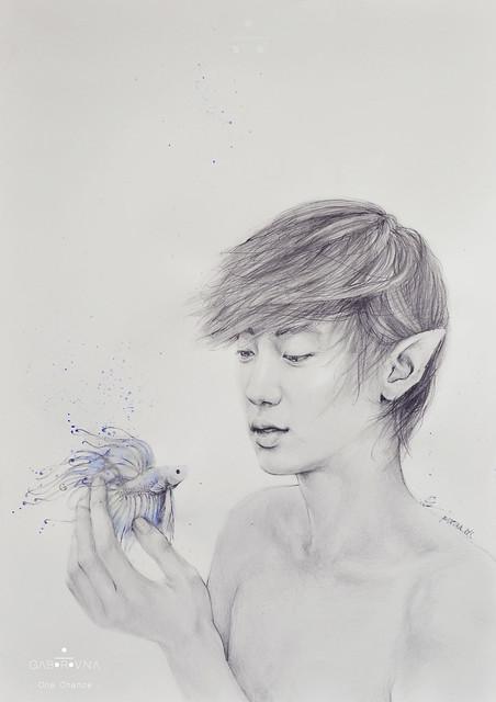 One Chance (Chanyeol fanart)