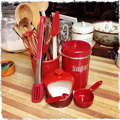 Mar 5 - 'R' {red in my kitchen} #photoaday