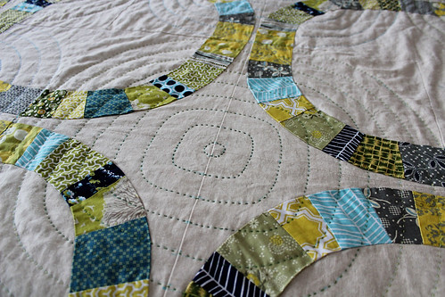 hand quilting my single girl