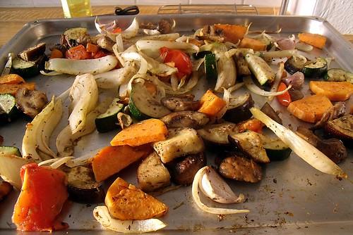 Gemüse aus dem Ofen 4