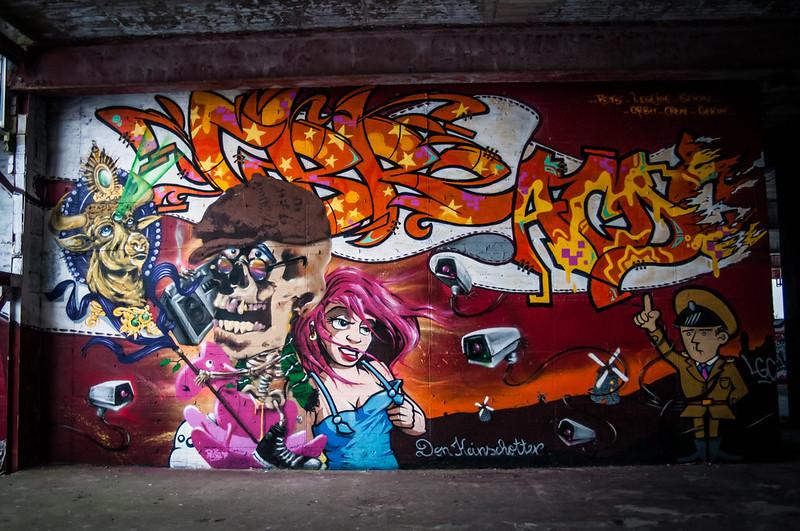 Teufelsberg Berlin Graffiti-6