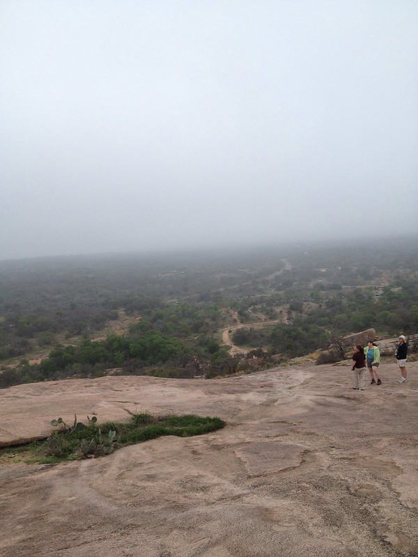 enchanted rock from the summit