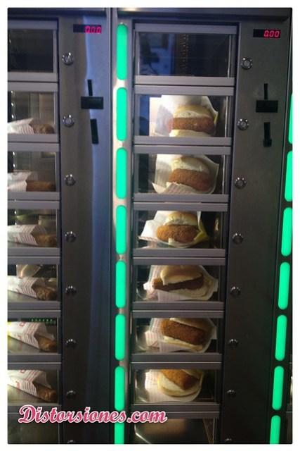 Dispensadores de comida en Holanda