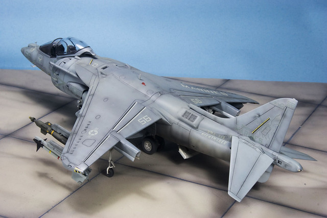 Harrier II in detail