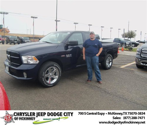 Congratulations to Nicholas Drew on the 2013 Dodge Ram by Dodge City McKinney Texas