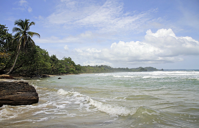 very high tide