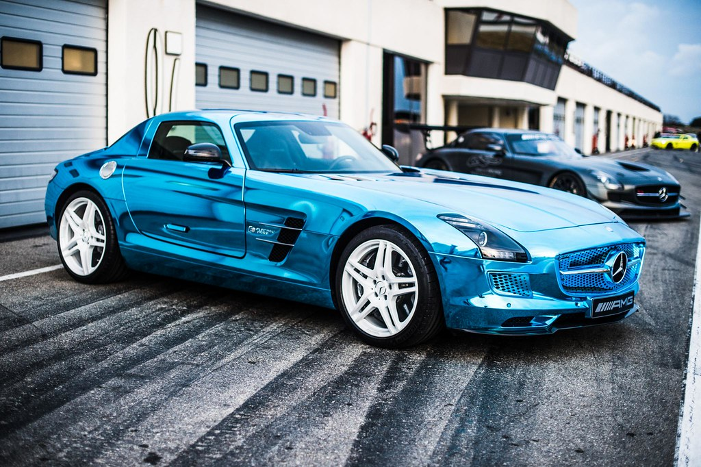 Mercedes-Benz SLS AMG Electric Drive