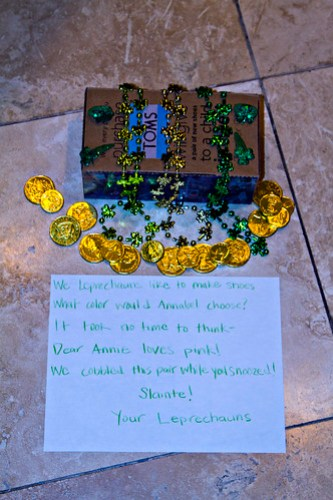 from her leprechauns