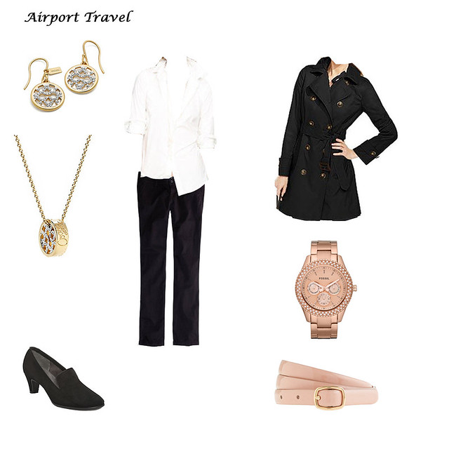 Airport travel Outfit