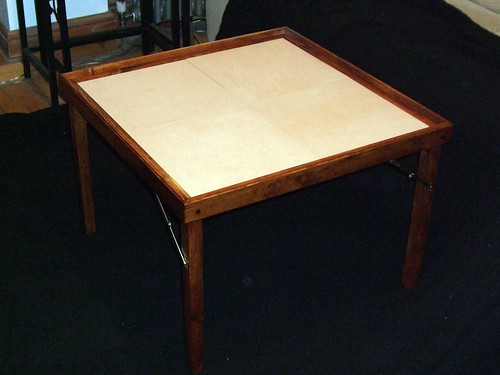 Collapsible Small Gaming Table