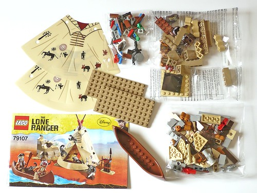 The Lone Ranger 79107 Comanche Camp pack