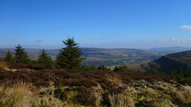 Crug Mawr, Black Mountains, Hatterrall Hill, Vale of Ewyas