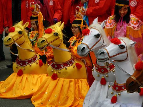Chinese New Year Parade Riders