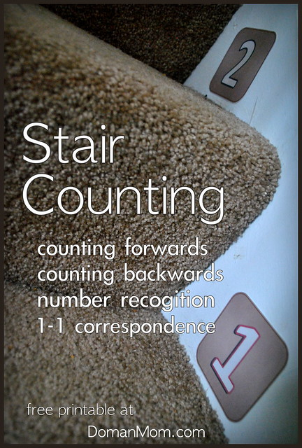 Stair Counting Game