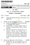 UPTU B.Tech Question Papers - TEE-406-Energy Conversion