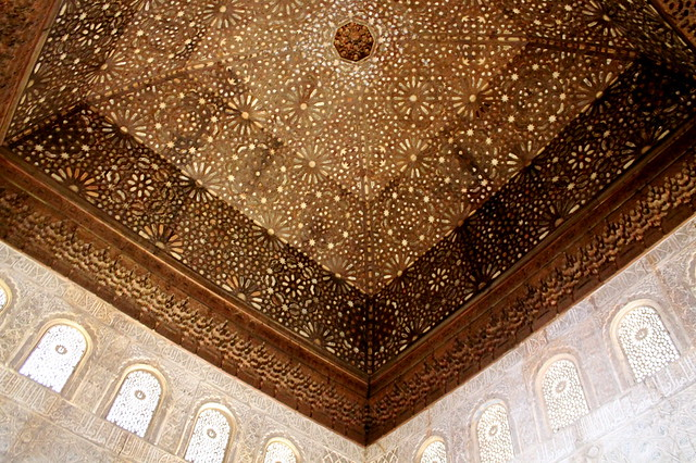 Starry ceiling alhambra