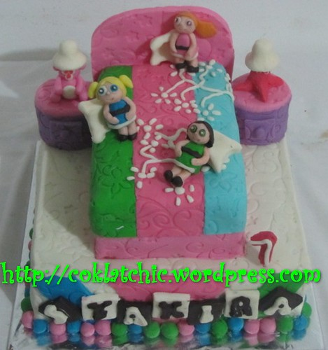 Cake Power Puff Girls