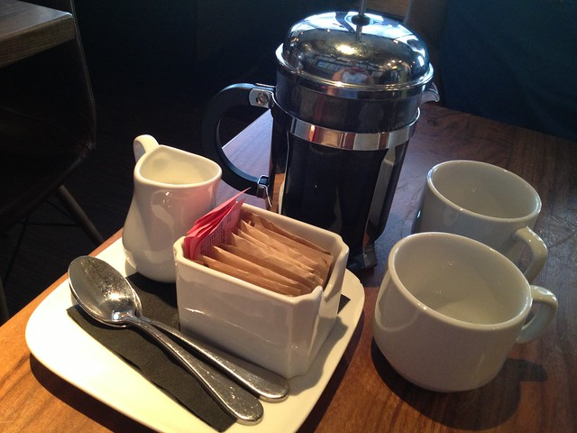 Coffee service - Chambers Eat + Drink