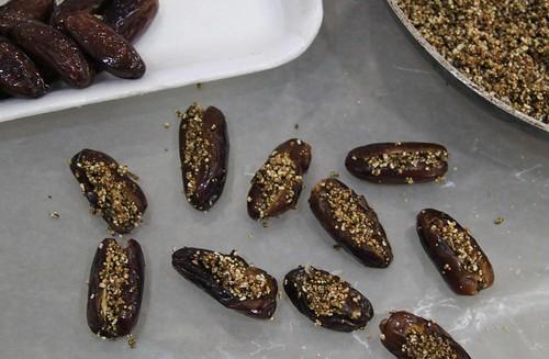 Dates and amaranth