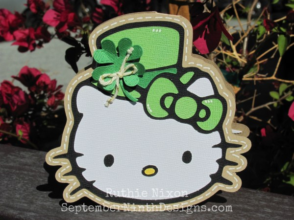 September Ninth Design St. Patrick' Day Kitty
