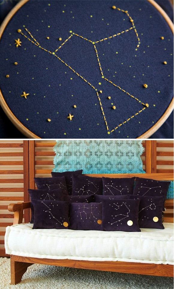 DIY Constellation Sweater