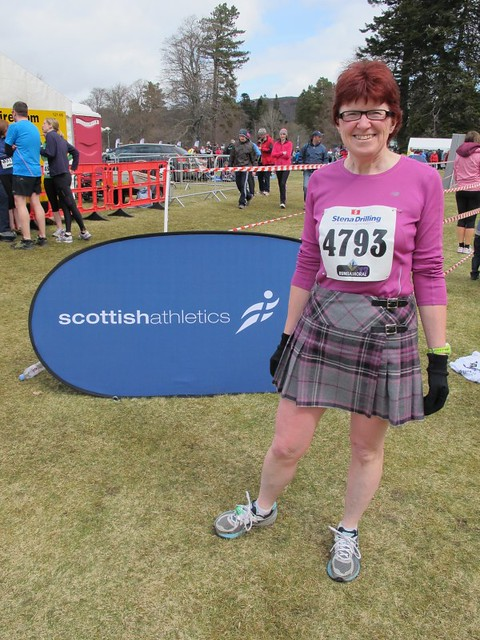 Raring to go - All set for the Run Balmoral Tartan 10K