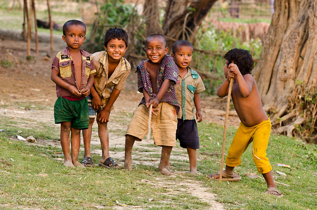 Children of Tanguar Haor by Arju Rahman.