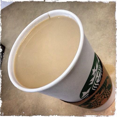 Feb 21 - full {my morning coffee} #fmsphotoaday #starbucks #coffee