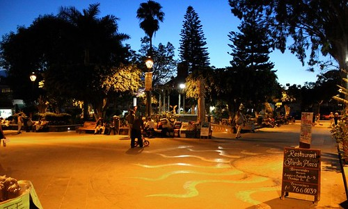 Ajijic plaza by Ajijic Jalisco