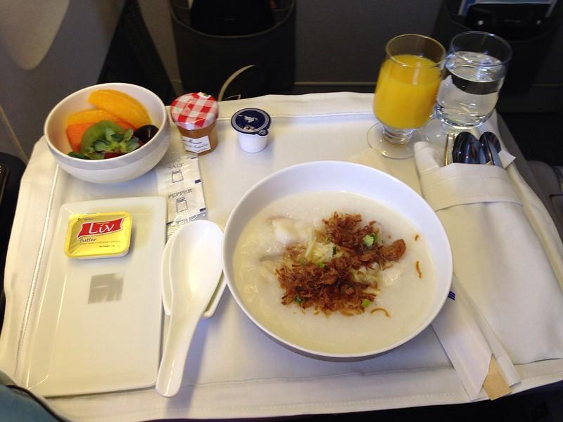 Fish Porridge for Breakfast