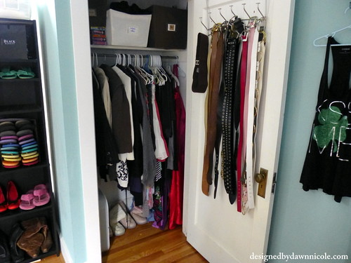 Spare Room turned into Organized Closet