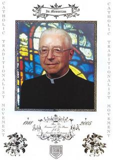 Father Gommar A. De Pauw