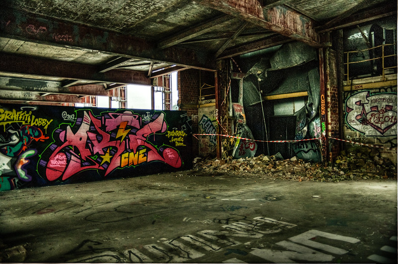 Teufelsberg abandoned buildings