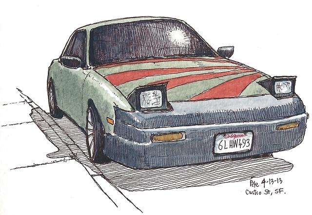 car on castro