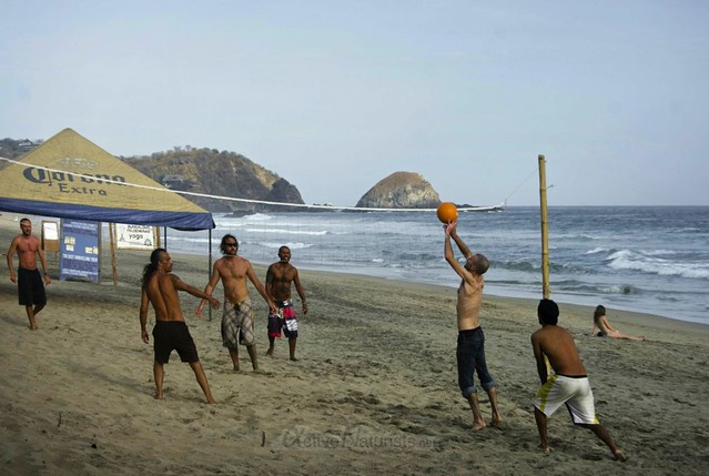 volleyball 0016 Zipolite, Oaxaca, Mexico