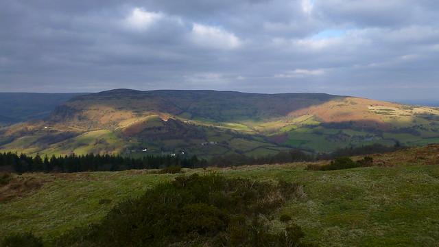 Twyn y Gaer Hill Fort, Hatterrall Hill