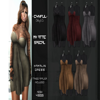 Cynful - Kamalin Dress - My Attic @ The Deck
