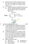 UPTU: B.Tech Question Papers - ME-201 - Mechanical Engineering