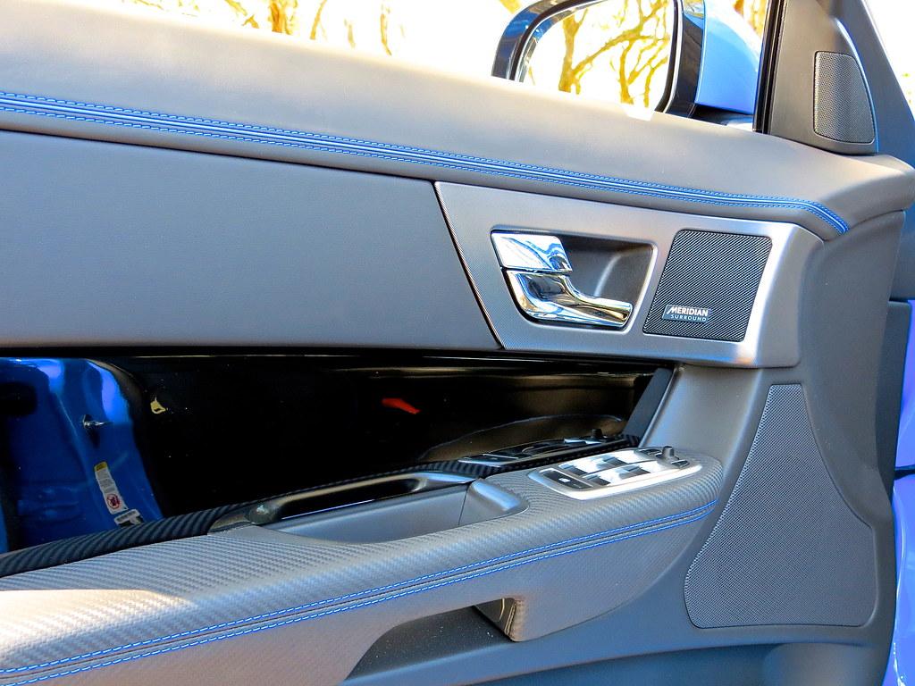 Jaguar XFR-S Interior