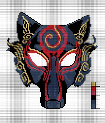 Wolf Mask Design
