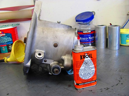 Kroil to Ease Removal of Kick Starter and Shift Lever Bolts