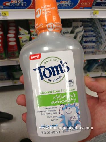 Tom's of Maine Children's Anticavity Fluoride Rinse