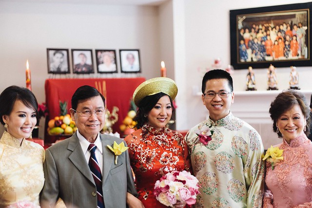 my cousin's traditional vietnamese wedding and harry potter reception