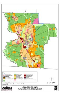 Future Development Map Lowndes County 2030 Comprehensive Plan