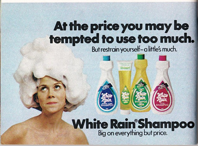 White Rain Shampoo