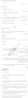 CBSE Class X: Maths - A pair of linear equations in two variables
