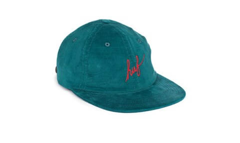 26_HUF_Spring_2013_Formless_Script_Six_Panel_Teal