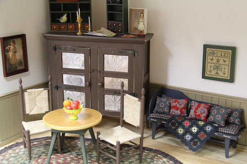 living/dining room corners, part 1