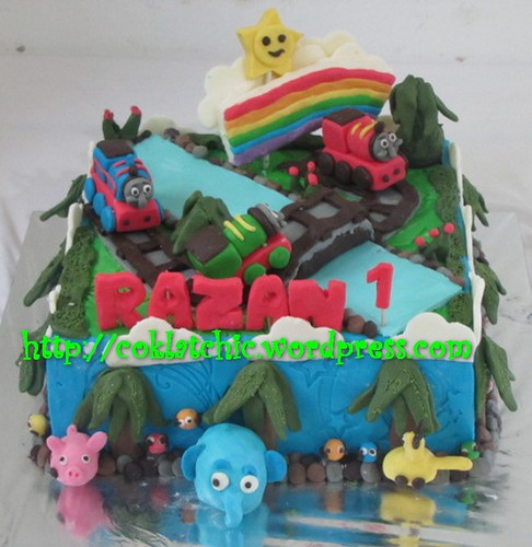 Cake Thomas dan Jungle Junction